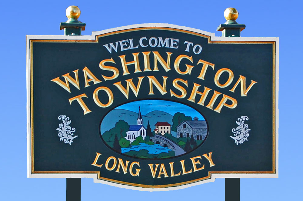 Washington Township Welcome Sign